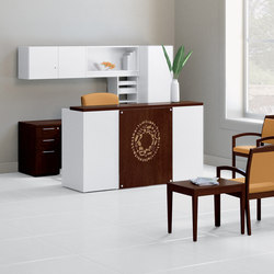 WaveWorks Desk | Banques d'accueil | National Office Furniture