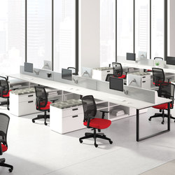 WaveWorks Desk | Tischsysteme | National Office Furniture