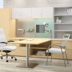 WaveWorks Desk | Tables de réunion | National Office Furniture