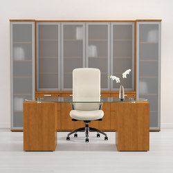 WaveWorks Desk | Escritorios ejecutivos | National Office Furniture