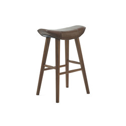 Kya | Kitchen Stool with wooden frame | Sillas de trabajo altas | FREIFRAU MANUFAKTUR