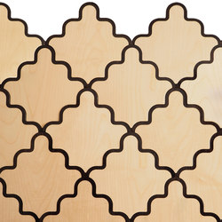 Tarsine | modular wall coverings range | Dalles de bois | Portego