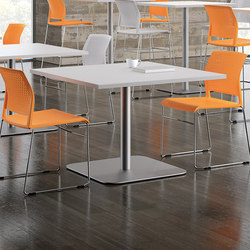 WaveWorks Table | Canteen tables | National Office Furniture