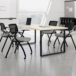 WaveWorks Table | Mesas de lectura / estudio | National Office Furniture