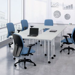 WaveWorks Table | Mesas individuales para seminarios | National Office Furniture