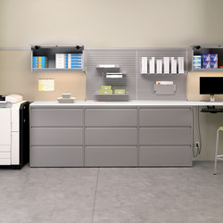 WaveWorks Metal Storage | Caissons | National Office Furniture