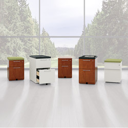 WaveWorks Metal Storage | Carritos auxiliares | National Office Furniture