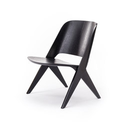 Lavitta Lounge Chair – Stained Black | Armchairs | Poiat