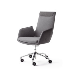 Cordia Plus swivel chair on castors | Sillas | COR