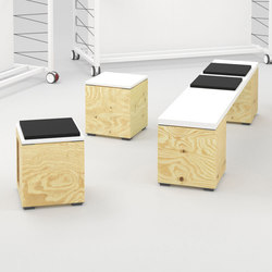PIXEL Seating | Modular seating elements | Bene