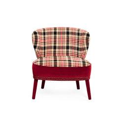 Cloè Armchair | Loungesessel | black tie