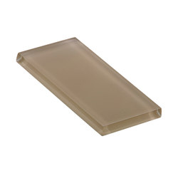 Glasstints | khaki matte | Carrelage en verre | Interstyle Ceramic & Glass