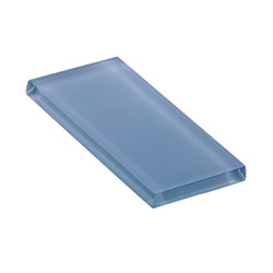 Glasstints | stormy blue matte | Carrelage en verre | Interstyle Ceramic & Glass
