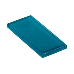 Glasstints | lagoon green glossy | Carrelage en verre | Interstyle Ceramic & Glass