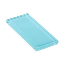 Glasstints | aztec turquoise glossy | Carrelage en verre | Interstyle Ceramic & Glass