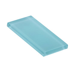 Glasstints | faint aqua matte | Baldosas de vidrio | Interstyle Ceramic & Glass