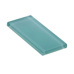 Glasstints | aqua beryl matte | Carrelage mural en verre | Interstyle Ceramic & Glass