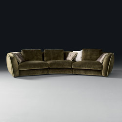 Levante Sofa | Lounge sofas | black tie