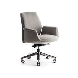 Downtown Swivel Meeting | Task chairs | Poltrona Frau