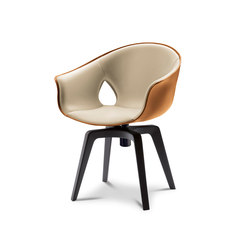 Ginger Swivel | Visitors chairs / Side chairs | Poltrona Frau