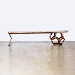 The Hamilton Bench | Panche attesa | Bellwether Furniture