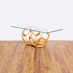 The Maple Split Polyhedron | Lounge tables | Bellwether Furniture