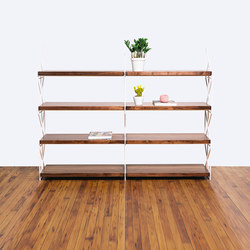 The Milkstout Bookshelf | Étagères | Bellwether Furniture