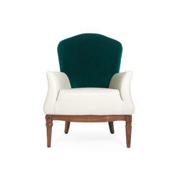 Dafne Armchair | Lounge chairs | black tie