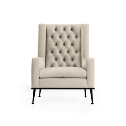 Victoria Armchair | Loungesessel | black tie
