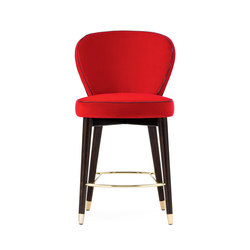 Olivia Stool | Barhocker | black tie