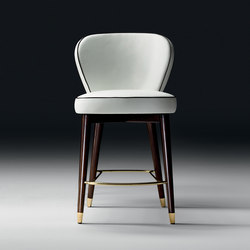Olivia Stool | Taburetes de bar | black tie