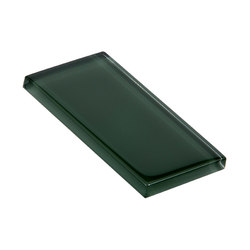 Glasstints | shady green glossy | Piastrelle vetro | Interstyle Ceramic & Glass