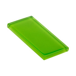 Glasstints | bright green glossy | Glas-Wandfliesen | Interstyle Ceramic & Glass