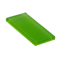Glasstints | bright green matte | Baldosas de vidrio | Interstyle Ceramic & Glass