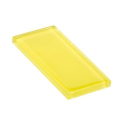 Glasstints | yellow green glossy | Carrelage | Interstyle Ceramic & Glass