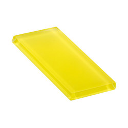 Glasstints | yellow green matte | Carrelage | Interstyle Ceramic & Glass