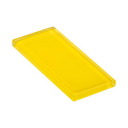 Glasstints | citric yellow glossy | Carrelage | Interstyle Ceramic & Glass