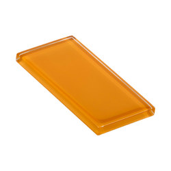Glasstints | orpiment yellow glossy | Piastrelle vetro | Interstyle Ceramic & Glass