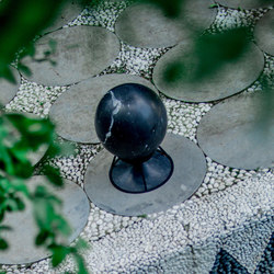 Sphere 360 standard stones marquina black | Sound systems / speakers | Architettura Sonora