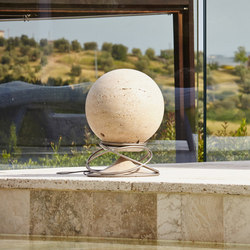 Sphere 360 standard stones travertine classic | Sound systems / speakers | Architettura Sonora