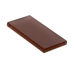 Glasstints | mahogany brown matte | Carrelage en verre | Interstyle Ceramic & Glass