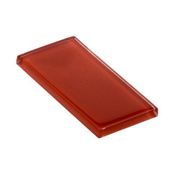 Glasstints | firebrick glossy | Piastrelle vetro | Interstyle Ceramic & Glass