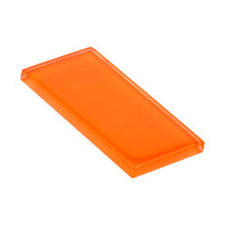 Glasstints | orange mineral glossy | Carrelage en verre | Interstyle Ceramic & Glass