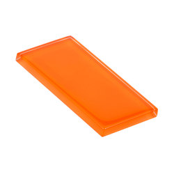 Glasstints | orange mineral matte | Baldosas de vidrio | Interstyle Ceramic & Glass