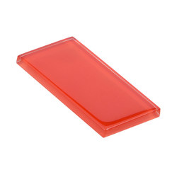 Glasstints | tango red glossy | Carrelage en verre | Interstyle Ceramic & Glass