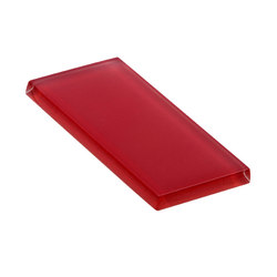 Glasstints | carmine red matte | Carrelage en verre | Interstyle Ceramic & Glass