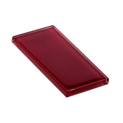 Glasstints | maroon glossy | Carrelage mural en verre | Interstyle Ceramic & Glass