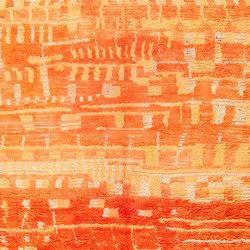 Burnt Orange Shaggy Vintage Moroccan Berber Rug | Tappeti / Tappeti d'autore | Nazmiyal Rugs