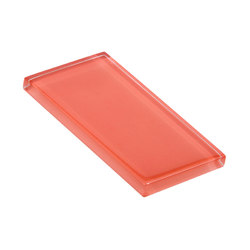 Glasstints | salmon roe glossy | Baldosas de vidrio | Interstyle Ceramic & Glass