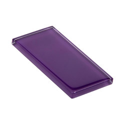 Glasstints | royal purple glossy | Glas Fliesen | Interstyle Ceramic & Glass